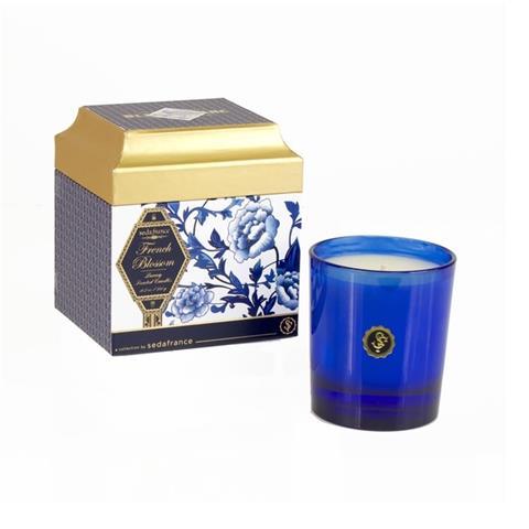 Seda France Bleu et Blanc Boxed Candle French Blossom 6.25oz