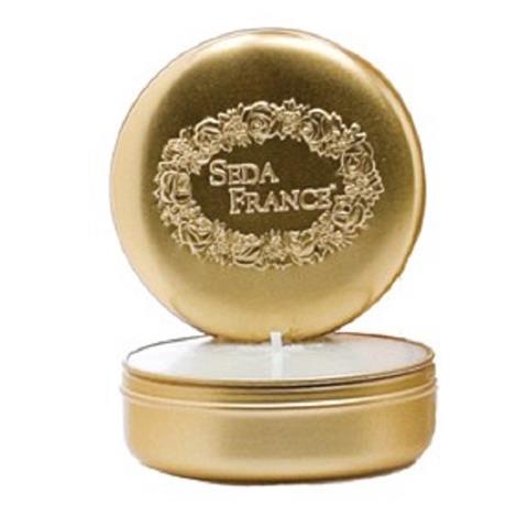 Seda France Classic Toile Travel Tin Candles Elegant Gardenia 2oz