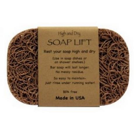 Soap Lift Soap Dish Tan Color