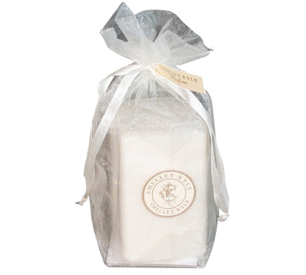 Shelley Kyle Signature Double French Milled Coconut & Palm Oil Soaps in Pouch