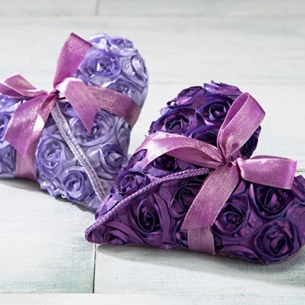 Sonoma Lavender Sachets & Dream Pillows Rosette Hearts