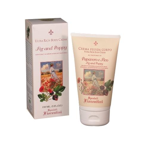 Derbe Speziali Fiorentini Fig & Poppy Ultra Rich Body Cream 5 oz