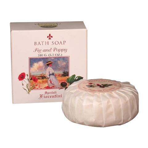 Derbe Speziali Fiorentini Fig & Poppy Bath Soap 3.3 oz
