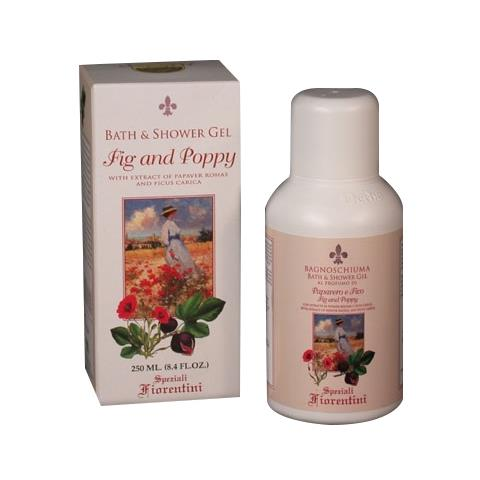 Derbe Speziali Fiorentini Fig & Poppy Bath/Shower Gel 8.4 oz