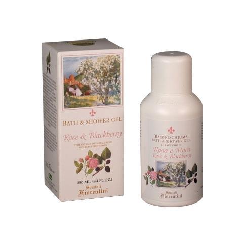 Derbe Speziali Fiorentini Rose & Blackberry Bath and Shower Gel 8.4 oz