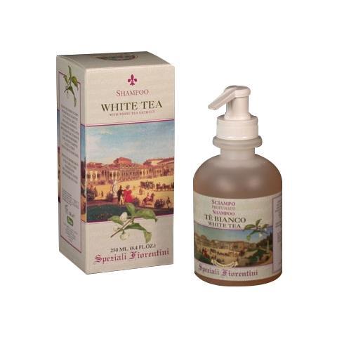 Derbe Speziali Fiorentini White Tea Hair Shampoo Pump 8.4 oz