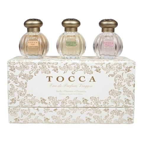Tocca Classic Gift Set Eau de Parfum Viaggio 3 X 0.5oz