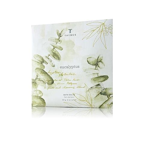 Thymes Eucalyptus Bath Salts In Envelope 60 G 2 Oz