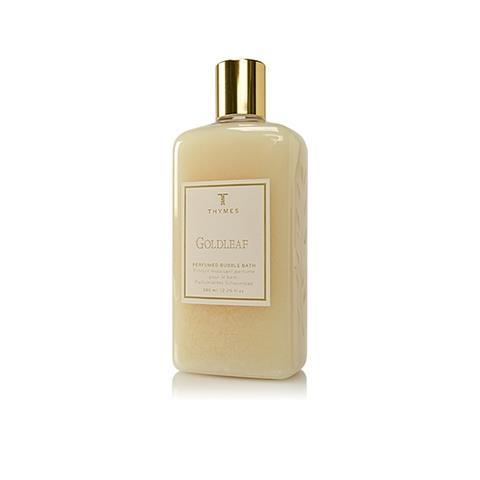Thymes Goldleaf Perfumed Bubble Bath 12.25 Oz