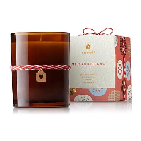 Thymes Gingerbread Poured Candle 9.5 Oz
