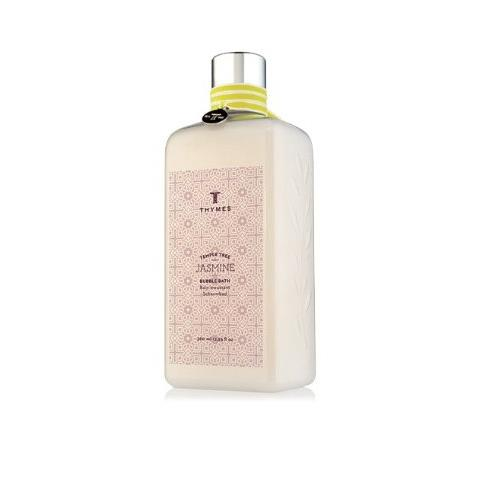 Thymes Temple Tree Jasmine Bubble Bath Flask 12.25oz