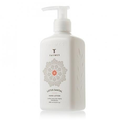 Thymes Lotus Santal Hand Lotion Pump 8.25 Oz