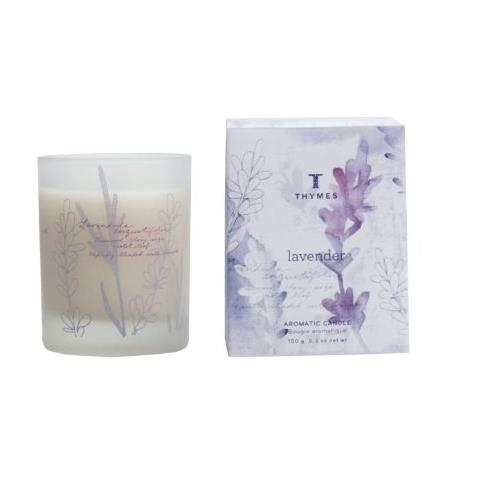 Thymes Lavender Aromatic Poured Candle 9Oz