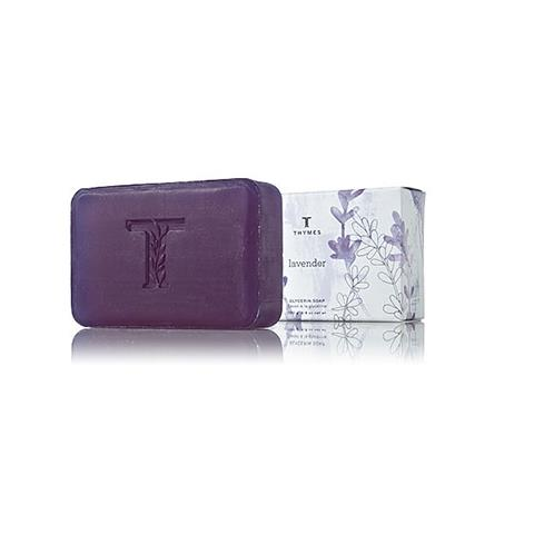Thymes Lavender Glycerine Soap 6.8Oz