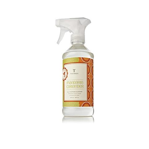 Thymes Mandarin Coriander All Purpose Cleaner 16Oz