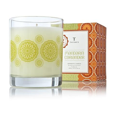Thymes Mandarin Coriander Poured Candle 9oz