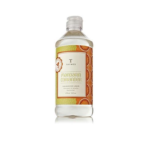 Thymes Mandarin Coriander Dishwashing Liquid 16Oz