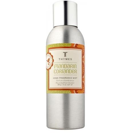 Thymes Mandarin Coriander Home Fragrance Mist 3Oz