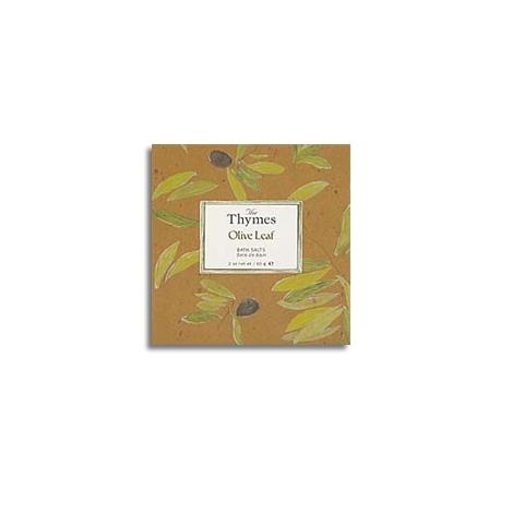 Thymes Olive Leaf Bath Salts 60 G 2oz