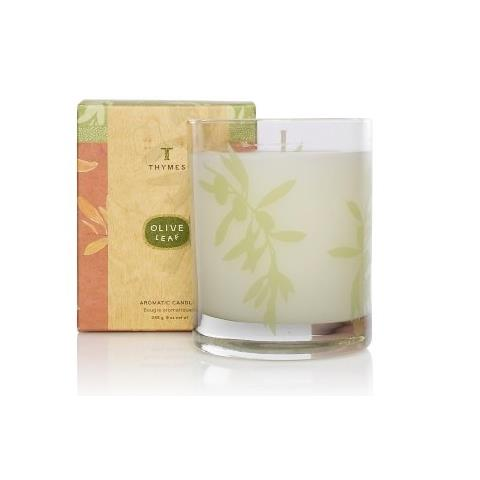 Thymes Olive Leaf Poured Candle 9oz
