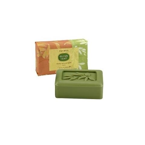 Thymes Olive Leaf Triple Milled Soap 7oz/198g