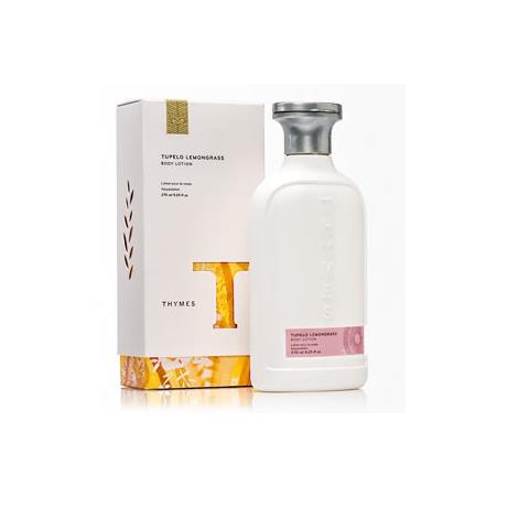 Thymes Tupelo Lemongrass Body Lotion 9.25 Oz