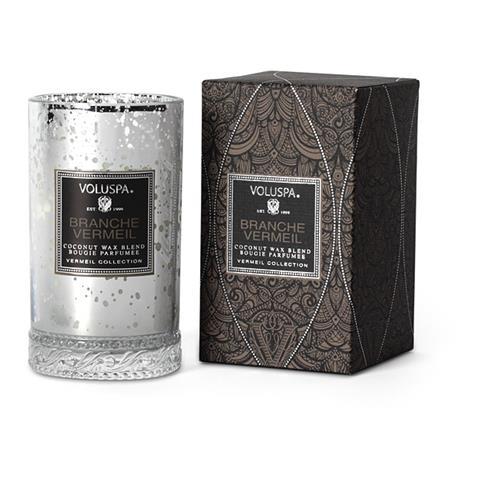 Voluspa Vermeil Slender Glass Candle Branche Vermeil 5.25oz