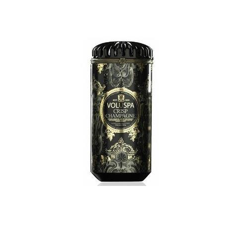 Voluspa Maison Noir Ceramic Candle Crisp Champagne 15oz