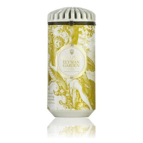 Voluspa Maison Blanc Elysian Garden Ceramic Candle 15oz