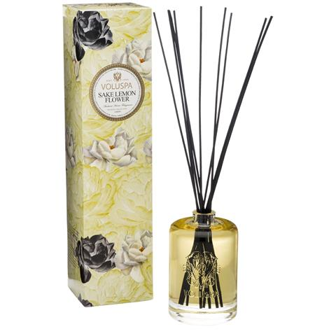 Voluspa Maison Jardin Diffuser Sake Lemon Flower 6oz