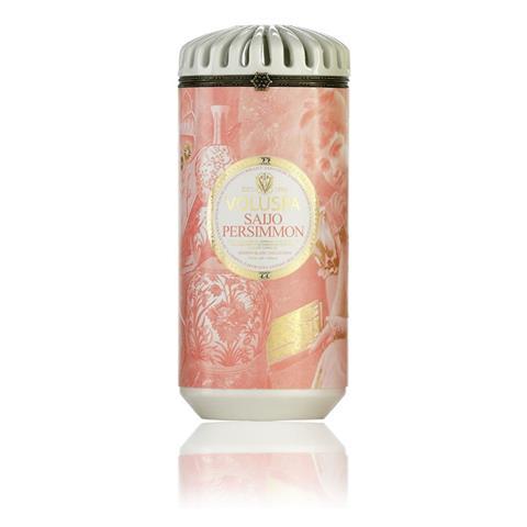 Voluspa Maison Blanc Ceramic Candle Saijo Persimmon 15oz