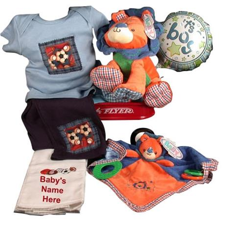 Mary Meyer Plush Lion With Jillibean Bebe Sport Outfit