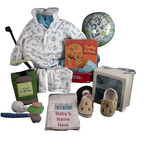 Elegant Kissy Kissy Golf Long Onsy Outfit Baby Boy Gift