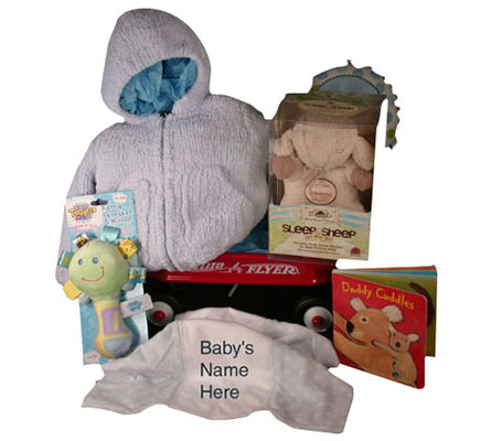 Sweet Angel Dear Chenille Sweater With Sleep Sheep on The Go Baby Gift
