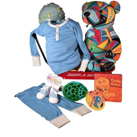 Special Baby Sport Bear With PJs Baby Boy Gift