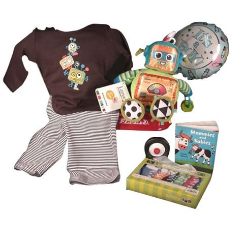 Popular Zutano Robot Outfit With Matching Plush Activity Robot