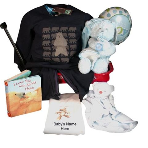 Nano & Musical Gund Bear Beary Sweet Baby Boy Gift