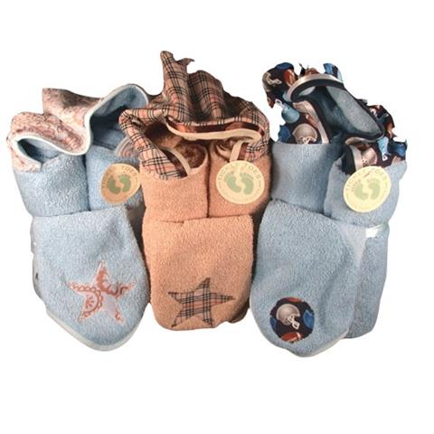 Tickle Toes Hooded Towels With Wash Cloths (One pc or One color)