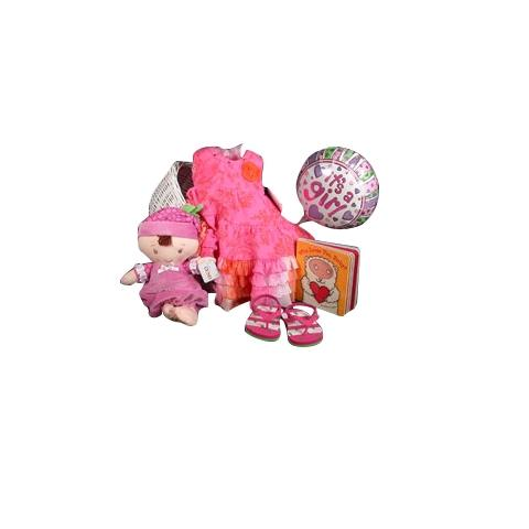 Daddy's Little Princess Baby Girl Gift with Ralph Lauren Sandals Spring/Summer