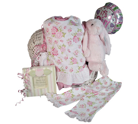 Pretty In Pink Summertime Margery Ellen & Jellycat Precious Baby Girl Gift