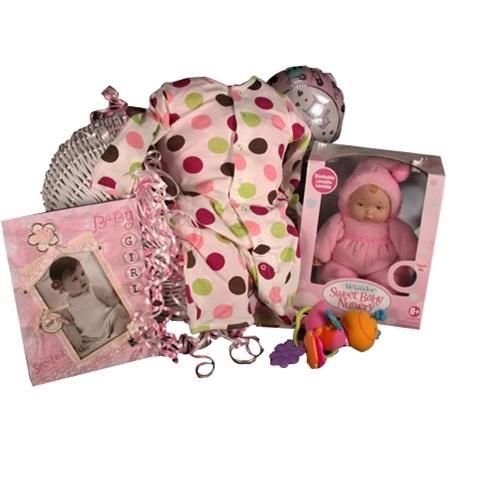 Madame Alexander & Bamboo Kicky Pants Baby Girl Gift