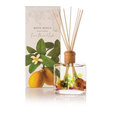 Rosy Rings Citrus Lemon Blossom & Lychee Reed Diffuser 13oz