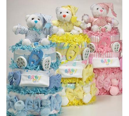 SWEET BABY DIAPER CAKES