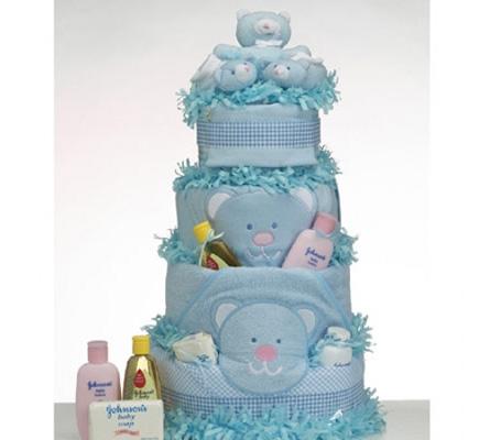 Diaper Cake Supreme Baby Boy Gift