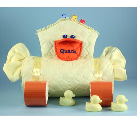 Duckie Changing Pad Diaper Cake Unisex Baby Gift