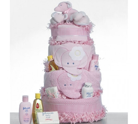 Elephant Supreme Diaper Cake
