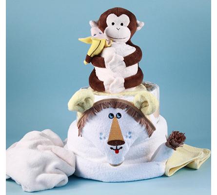 Lion King Diaper Cake Baby Gift