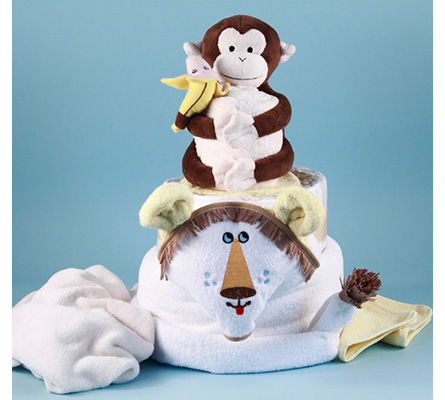 Lion King Diaper Cake Baby Gift