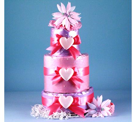 Little Heart Of Mine Diaper Cake