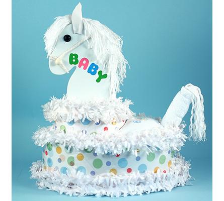 My Little Pony Diaper Cake Baby Gift